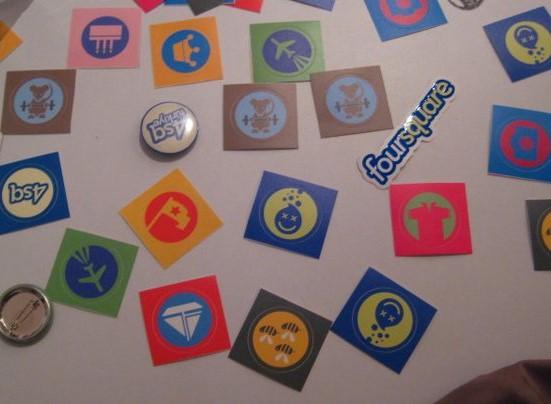 Oyunlaştırma Örnekleri - Foursquare Rozetleri